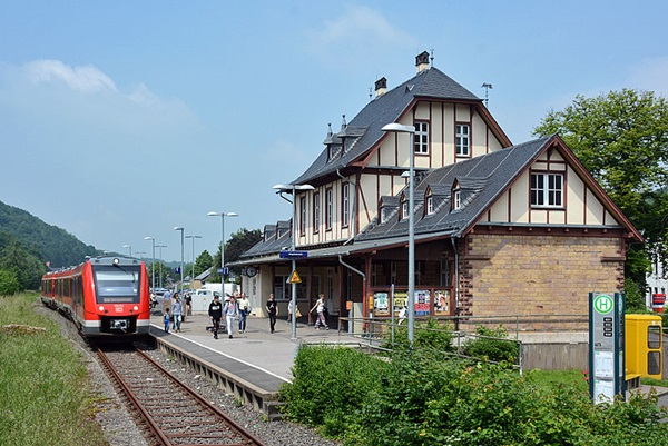 Bahnhof Bad Bentheim Parken