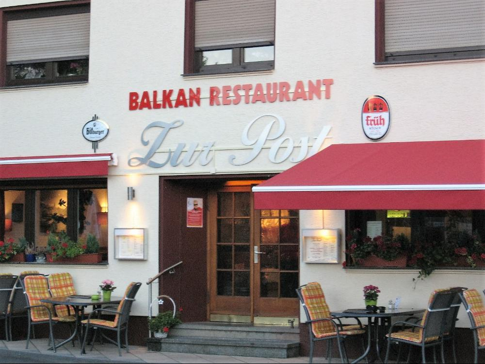 "Balkan-Restaurant ""Zur Post"""